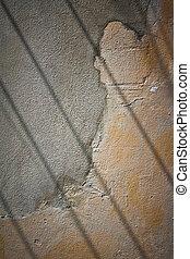 parede, concreto, antigas