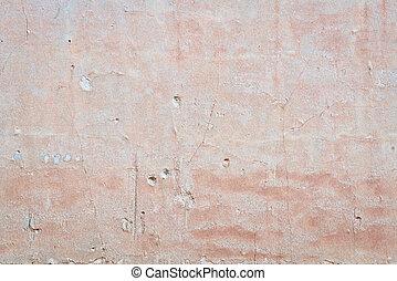 parede, gesso, antigas, fundo, textura