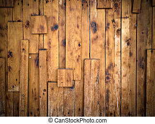 parede, madeira, antigas, textura