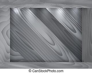 parede madeira, quadro, textura