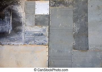 parede, metal