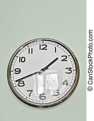 parede, modernos, relógio