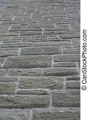 parede, pedra, fundo