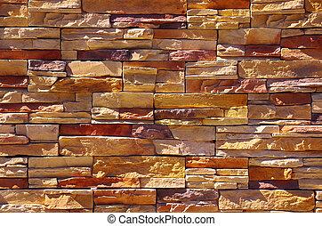 parede, pedra, xisto