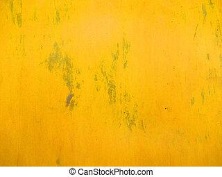 parede pintada, luminoso, amarela, textura
