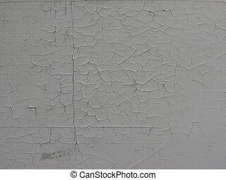 parede, quadro, danificado, antigas, branca