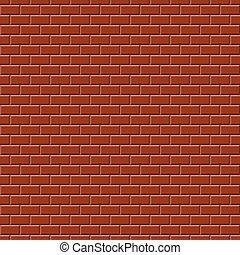 parede, red-brown, -, fundo, infinito
