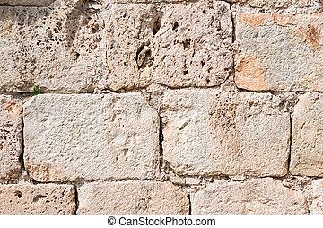 parede, textura pedra