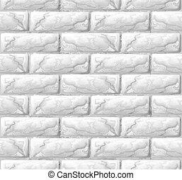 parede, tijolo, textura, seamless, fundo