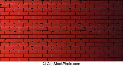 parede, vermelho