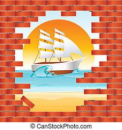 parede, vista mar