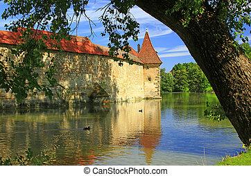 paredes cidade, de, weissenburg, bavaria