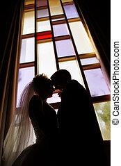 pareja, boda