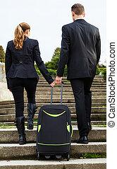 pareja, empresa / negocio