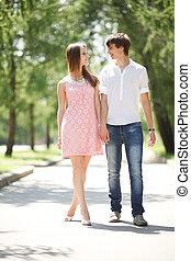 pareja, joven