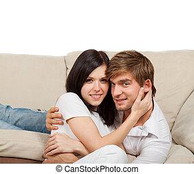 pareja joven