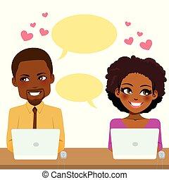 pareja, trabajo, amor