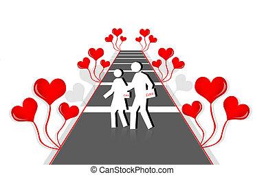parejas, amor