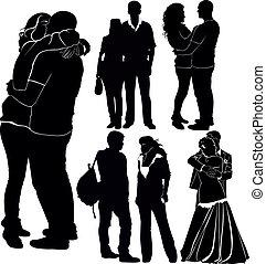parejas, amoroso