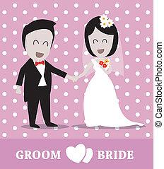 parejas, boda