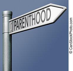 parenthood fatherhood or motherhood being a parent and...