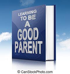 parenting, direction, bon, concept.