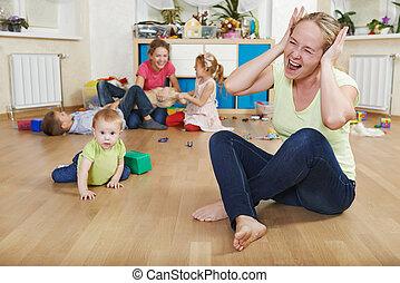 parenting, moeilijkheden, gezin