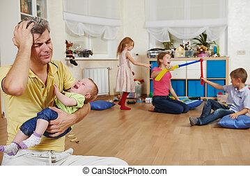 parenting, problema, familia