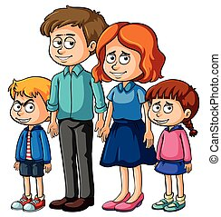 parents, enfants, famille