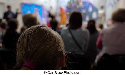 Parents Watch New Year's Eve With Participation Of Their...