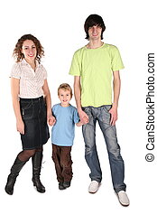 parents with a son