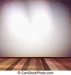 parete, 10, illumination., macchia, eps
