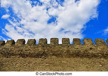 parete, akkerman, fortezza