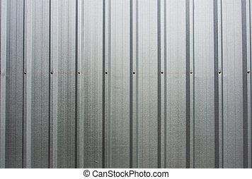 parete, alluminio, fondo