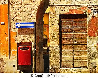 parete, antico