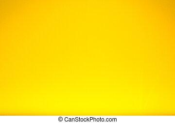 parete, astratto, sfondo giallo