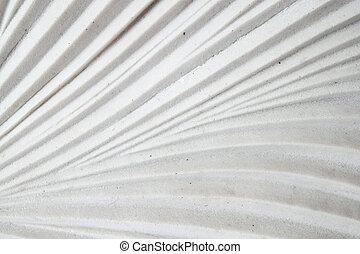 parete, bianco, foglia, struttura