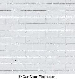 parete, bianco, struttura, mattone, fondo
