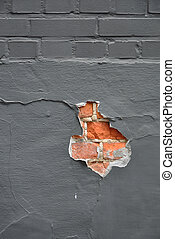 parete, buco