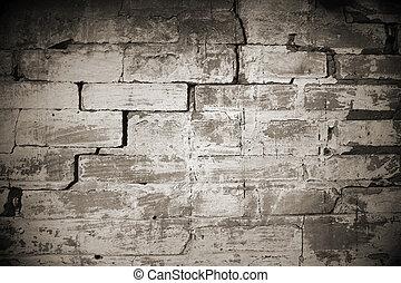 parete, casa, pietra, vecchio