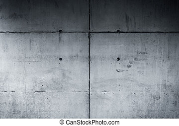 parete concreta, fondo, con, struttura
