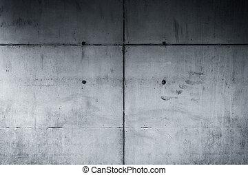 parete, concreto, fondo, struttura