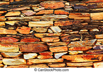 parete, fondo, pietra