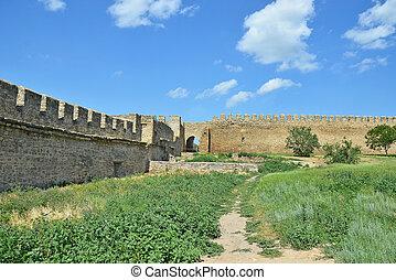 parete, fortezza