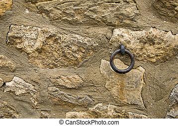 parete, gancio