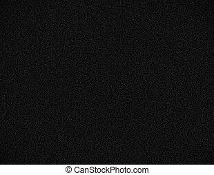 parete, granulato, nero, struttura