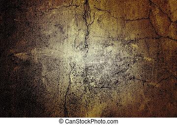 parete, grunge, textured