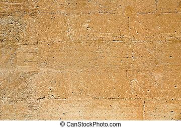 parete, invecchiato