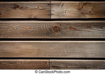 parete legno, vecchio, asse