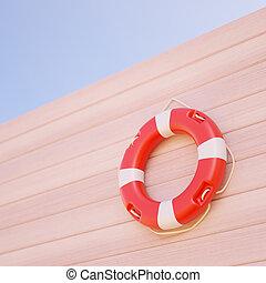 parete, lifebuoy